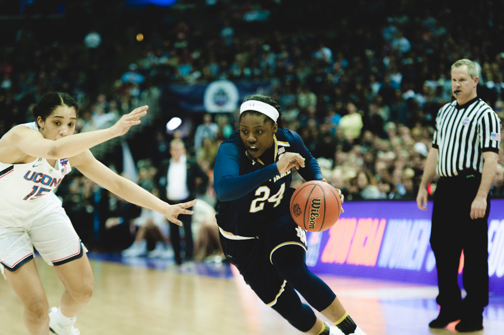 NCAA WOMEN: Ogunbowale lifts Notre Dame to title