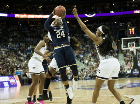 Championship-winning Notre Dame team nominated for three ESPY Awards