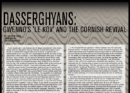Dasserghyans: Gwenno's 'Le Kov' and the Cornish Revival