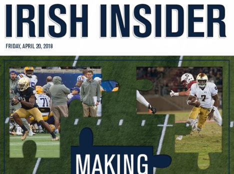 Irish Insider: Blue-Gold Game 2018