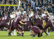 Kareem, depth in trenches help anchor Irish defense