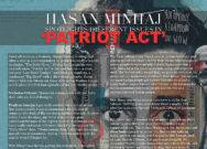 Hasan Minhaj spotlights different issues in 'Patriot Act'