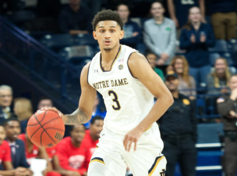 Notre Dame falls to Radford in third game of Gotham Classic