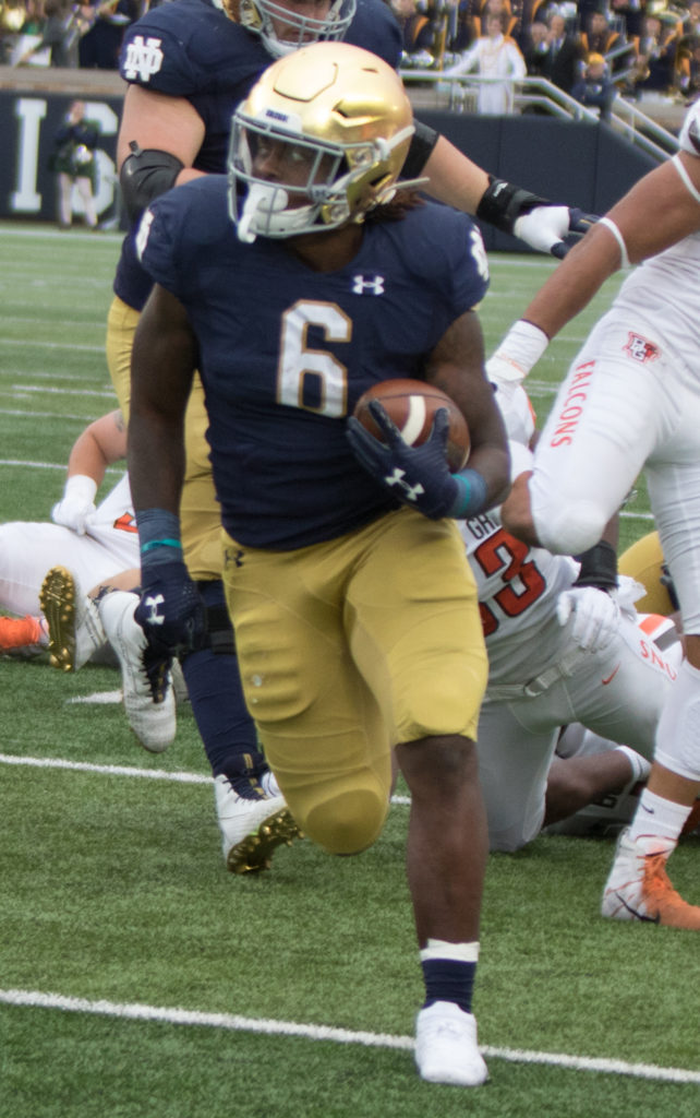 Troy Pride Jr. contributes to strong Irish secondary